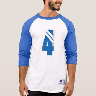 T-shirt T gráfico do basebol do desgaste do esporte de M