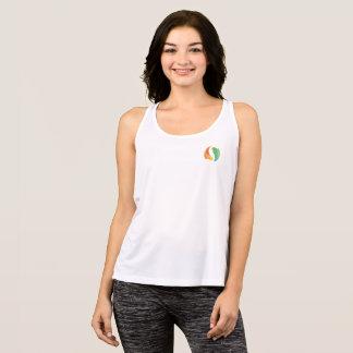 T-shirt Tanque do esporte do bem-estar de JG