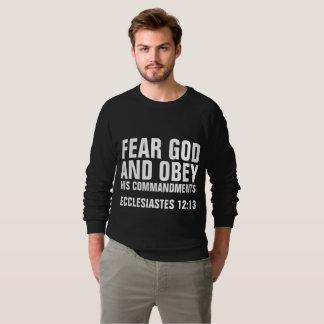 T-shirt TEMA o DEUS E OBEDEÇA SEUS MANDAMENTOS cristãos
