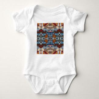 T-shirt Teste padrão psicadélico da construção