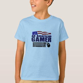 T-shirt Todo o Gamer americano