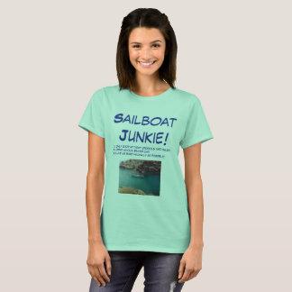 T-shirt Toxicómano do veleiro!