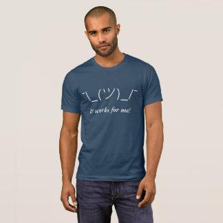 T-shirt Trabalha para mim!