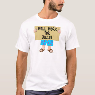 T-shirt Trabalhará para o cruzeiro
