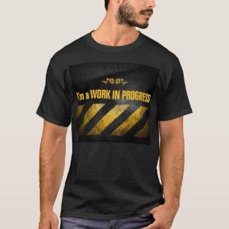 T-shirt Trabalhos em curso