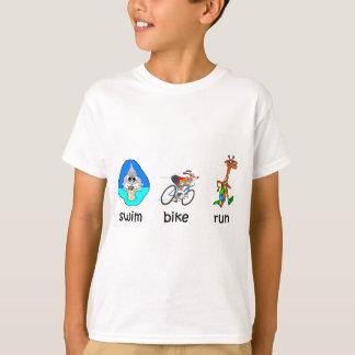 T-shirt Triathlon engraçado