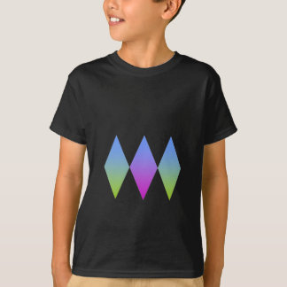 T-shirt triplo dos diamantes