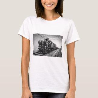 T-shirt Túnel de estrada de ferro de Detroit River