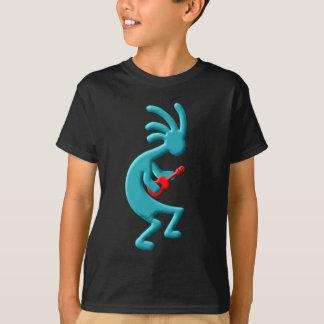 T-shirt Ukulele do nativo americano de Kokopelli