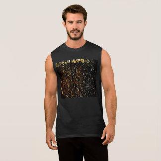 T-shirt ultra sem mangas ambarino da chuva dos