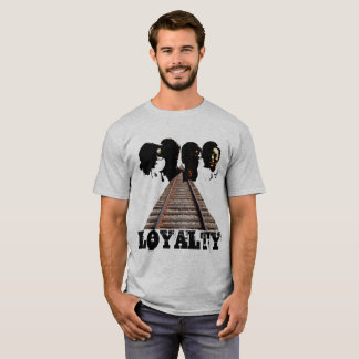 T-shirt Uma lealdade dos amigos