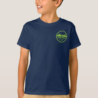 T-shirt urbano de Montessori Uniform/P.E. do