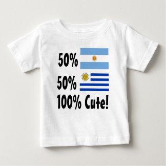 T-shirt Uruguayan 100% do argentino 50% de 50% bonito