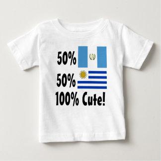 T-shirt Uruguayan 100% do Guatemalan 50% de 50% bonito