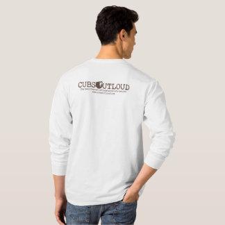 T-shirt Versão alternativa do logotipo V3 da coluna