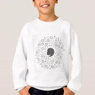 T-shirt Veste um círculo