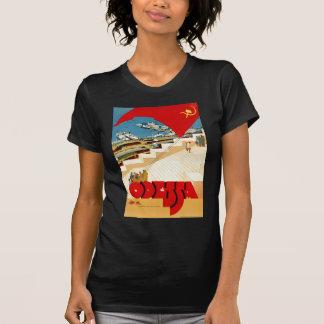 T-shirt Viagens vintage Odessa Ucrânia União Soviética