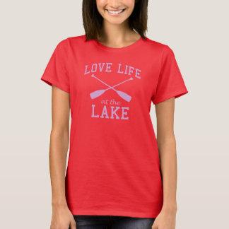 T-shirt Vida do amor no lago