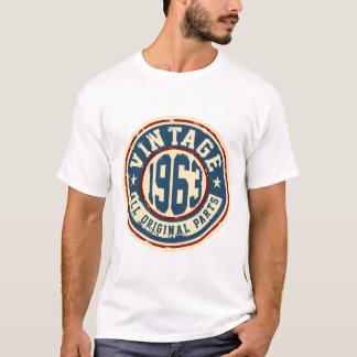 T-shirt Vintage 1963 todas as peças do original