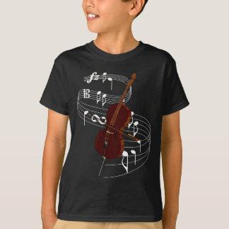 T-shirt Violoncelo
