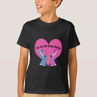 T-shirt Você é meu coelho do mel!