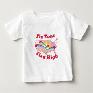 T-shirt Voe sua bandeira