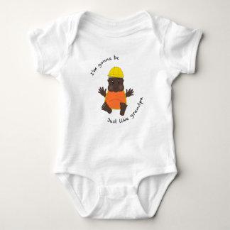 T-shirt Vovô do trabalhador da construção