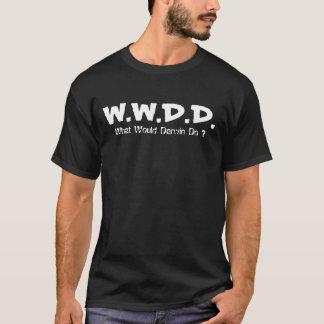 T-shirt W.W.D.D., que Darwin faria?