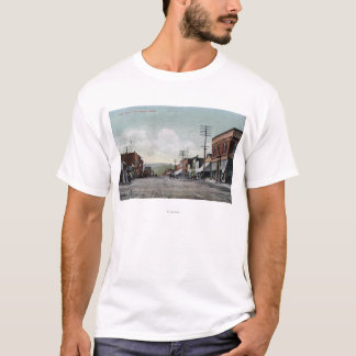 T-shirt Wenatchee, WashingtonView da rua principal