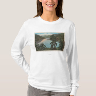 T-shirt Wenatchee, WAView do lago Chelan