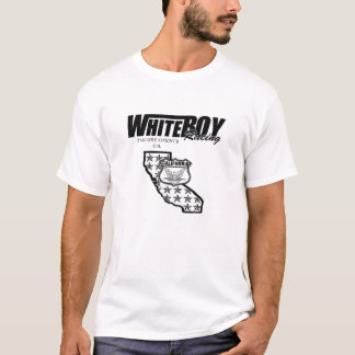 T-shirt WhiteBoy que compete Califórnia