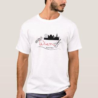 T-shirt Wien, Viena Áustria - Österreich