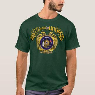 T-shirt Wisconsin uniu-se