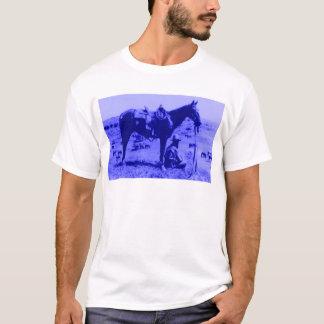 T-shirt Wrangler de cavalo