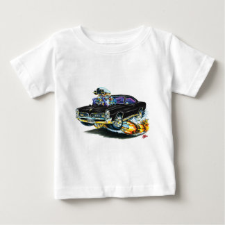 T-shirts 1966-67 carro preto de GTO