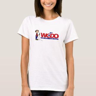 T-shirts A11 - As senhoras do anunciador de WCDO couberam T