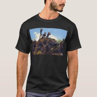 T-shirts A artilharia clara de Utá por Keith Rocco