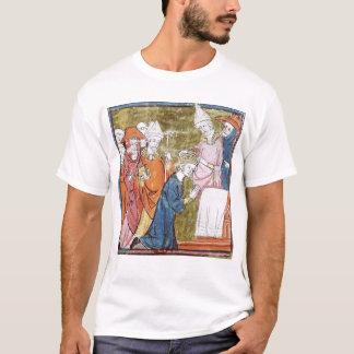 T-shirts A coroação do imperador Charlemagne