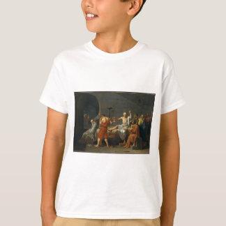 T-shirts A morte de Socrates