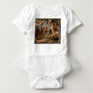 T-shirts A reunião de Abraham e de arte de Melchizedek