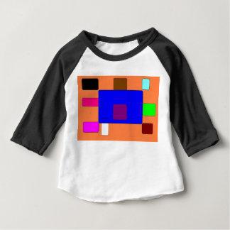 T-shirts Aba - arte abstracta colorida em Backgroundv2