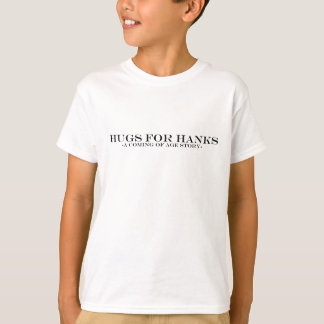 T-shirts Abraços para Hanks
