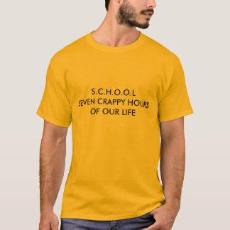 T-shirts Abreviatura da escola
