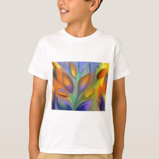 T-shirts Abstrato floral