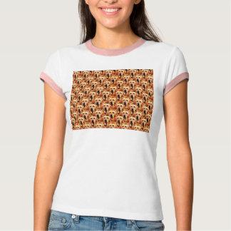T-shirts Abstrato legal do golden retriever do cachorrinho