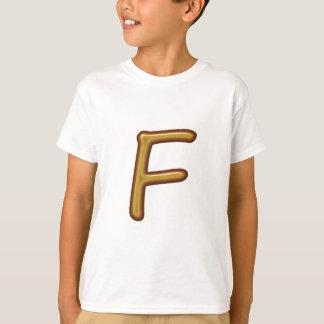 T-shirts Alfabeto ALPHAF FFF