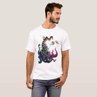 T-shirts Alienígena de combate do astronauta