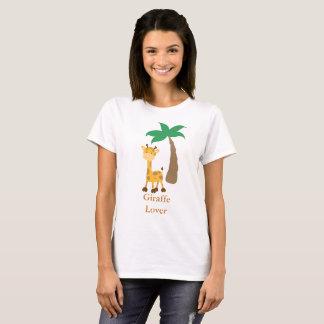 T-shirts Amante do girafa