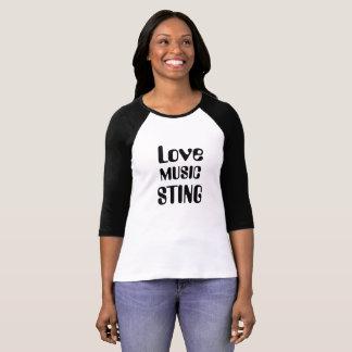 T-shirts Ame música Sting e toda a música do anos 80