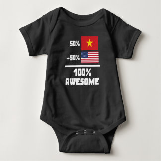 T-shirts Americano vietnamiano impressionante